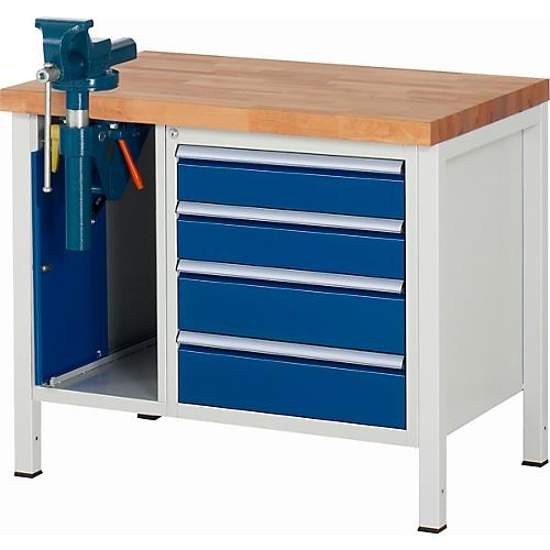 werkbank modell 8185 4 schubladen schrank mit. Black Bedroom Furniture Sets. Home Design Ideas