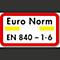 Euro-norm EN 840-1-6