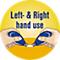 Links- & rechtshandig gebruik