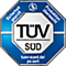 TÜV (Süd): überwachte Produktion. Weitere Infos unter: tuev-sued.de/ps-zert