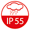 Schutzart IP55
