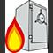 Tresor Feuersicherheit
