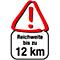 Reichweite 12km