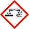 Gefahr - H314 Verursacht schwere Verätzungen der Haut und schwere Augenschäden.
