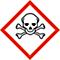 Gefahr - H300 Lebensgefahr bei Verschlucken. H310 Lebensgefahr bei Hautkontakt. H330 Lebensgefahr bei Einatmen.