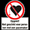 Niet v.Pers. m. Pacemaker