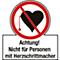 Nicht f.Pers. m. Schrittmacher