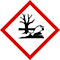 Gevaar - H410 Zeer giftig voor in het water levende organismen met effecten op lange termijn.