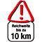 Reichweite 10km