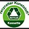 recycelter Kunststoff,Kassette