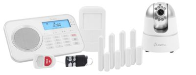 Alarmanlage Olympia 9881, drahtlos, mit integrierter GSM-Telefonwähleinheit