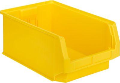 Fix-magazijnbak LF 532, kunststof, L 500 x B 312 x H 200 mm, 23,5 l, geel