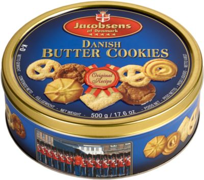 Jacobsens Butter Cookies, 500 g