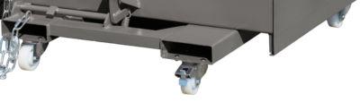 Lenk/Bock-Rollen Bauer aus Polyamid Durchmesser 100 mm, 1 Lenkrolle mit Feststeller