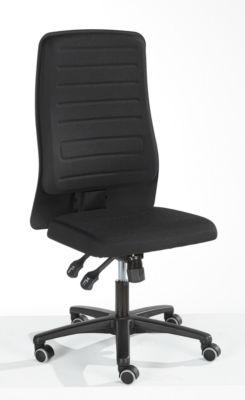 Prosedia Bürostuhl ECCON plus-8, Synchronmechanik, ohne Armlehnen, gepolstert, schwarz