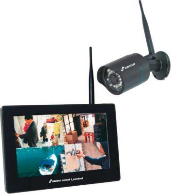 Videoüberwachungssystem Stabo smart I-control, WLAN, 720 p, kabellos, Nachtsicht, IP