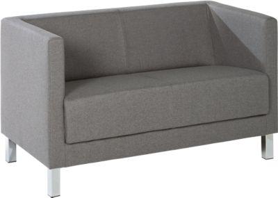 2-Sitzer Wienea, Stoff grau