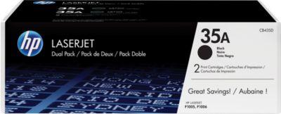 2 x Doppelpack HP Color LaserJet Druckkassetten CB435AD