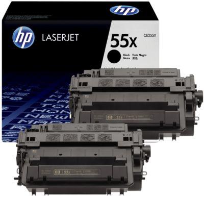 2 x Doppelpack HP Color LaserJet Druckkassetten CE255XD