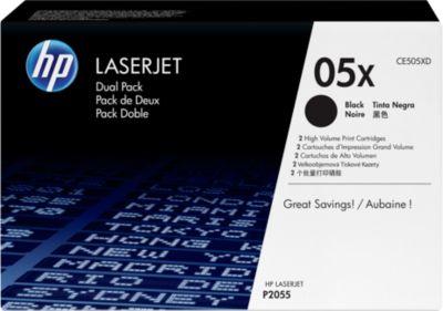 2 x Doppelpack HP Color LaserJet Druckkassetten CE505XD