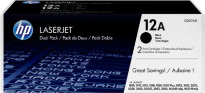 2 x Doppelpack HP Color LaserJet Druckkassetten Q2612AD