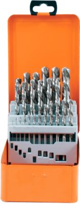 25delig spiraalborenset HSS-G 1-13/0,5mm
