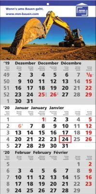 3-Monats-Kalender Smart