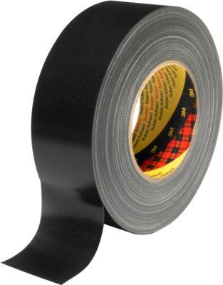 3M™ Premium Gewebe-Klebeband, 50 mm x 50 m, schwarz
