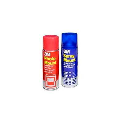 3M Sprühkleber SprayMount - wiederablösbar