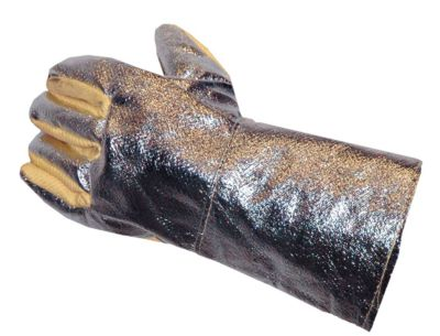 5-Finger Hitzeschutz-Handschuh Luna 430 mm lang