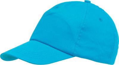 5-Panel-Cap inkl. 1-farbigem Werbedruck und allen Grundkosten, hellblau