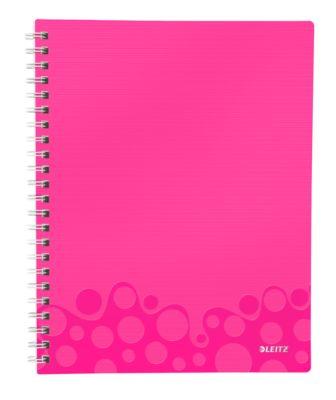 A4-Get organised schrift - 4642 - gelijnd - roze