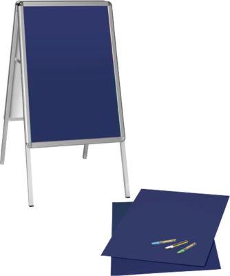 Aanbieding: reclamebord met schrijfbordset