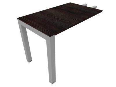 Aanbouwtafel 1000x600, Moor-eiken