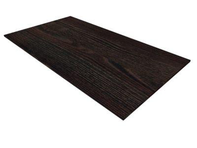 Abdeckplatte SOLUS PLAY, für Roll- und Standcontainer, B 430 x T 600 mm, Mooreiche