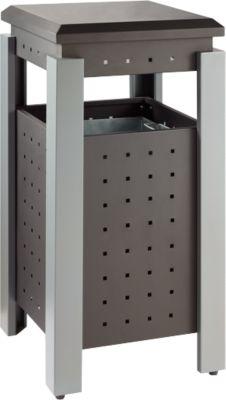 Abfallbehälter für Außen, 36 l