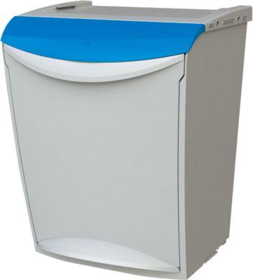 Abfallbehälter Öko Fancy, 25 L, blau