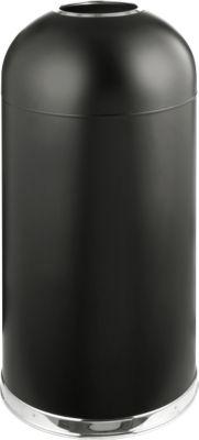 Abfallsammler Bullet-Open-Top, schwarz