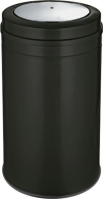 Abfallsammler mit Swing-Deckel, schwarz