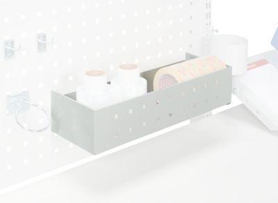 Ablagebox Serie TPB, Montage an Lochplatte, Traglast 4 kg
