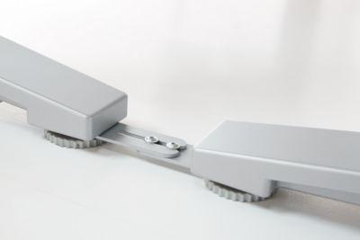 Abstandhalter PLANOVA ERGOSTYLE, 2 Stück, weißalu