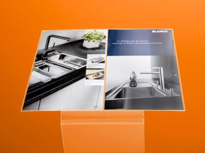 Acryl-Display-Aufsatz, DIN A3 quer