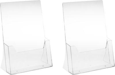 Acryl-tafelstandaard DIN A4, 2 st.