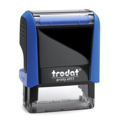 Adress-Stempel trodat® Printy 4911, blau