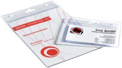 Afdekking van de identiteitskaart, formaat van het visitekaartje