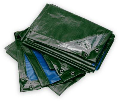 Afdekzeil, extreem sterk, groen/blauw, 8 x 12 m