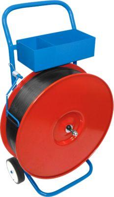 Afrolwagen gelakt 200/280/406 mm kern