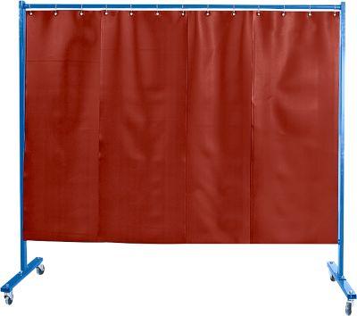 Afscheidingswand, Folie rood.verrijdb.