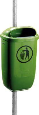 Afvalbak, 50 liter, groen