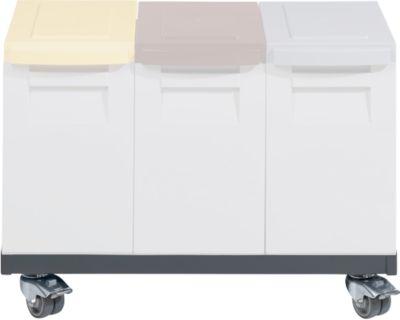 Afvalwagen voor afalbakken - voor 2 boxen